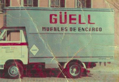 Historia de nuestra tienda de muebles, Muebles Güell