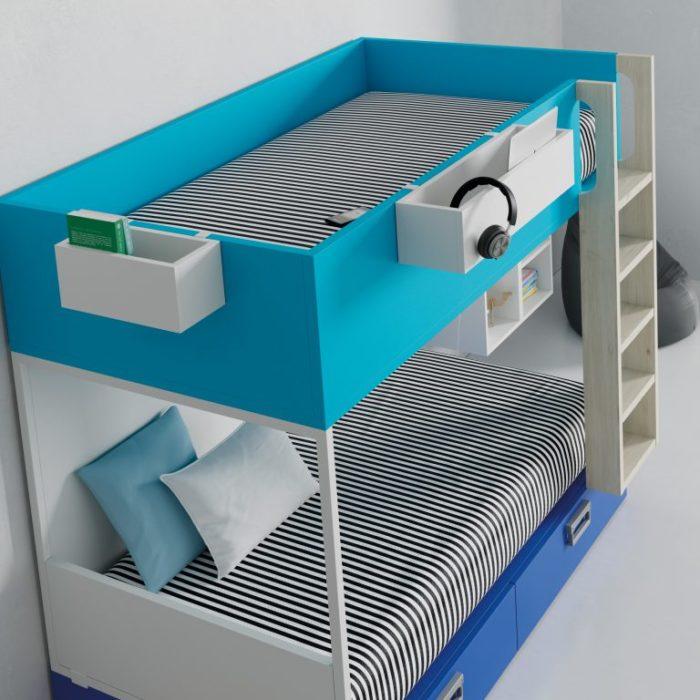 imatge d'una llitera de la marca muebles jjp
