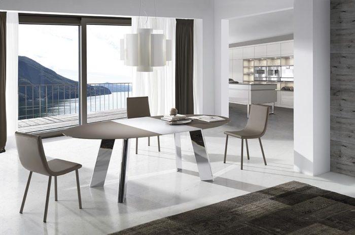 decoració de menjador amb mobles de la marca ramiro tarazona