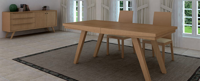 imatge taula de fusta noble de la marca tadel