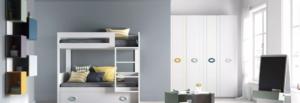 imatge dormitori amb llitera de la marca Tegar