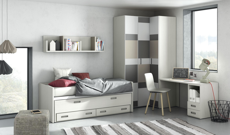 habitació juvenil amb mobles de la marca tegar mobel