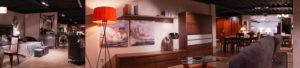 Una part del showroom que presenta Mobles Güell.
