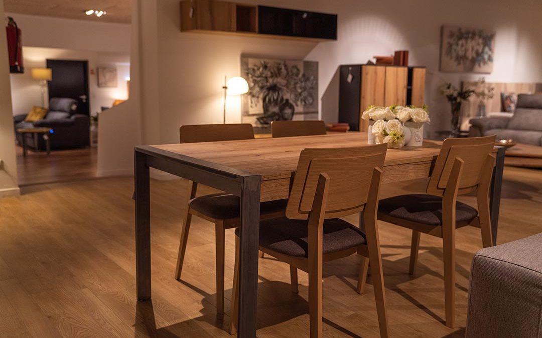El material que ha evolucionado: madera maciza.