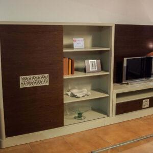 Mueble de comedor con chapa de madera