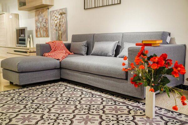 Tipus de sofàs: Sofà chaiselongue multiposició | Mobles Güell