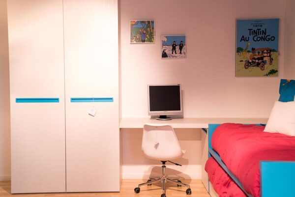 Dormitori juvenil complet turquesa | Mobles Güell